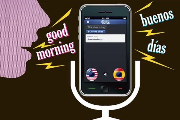 using these voice translator devices