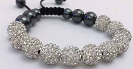 The Fun Design of Crystal Bracelet