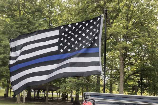 Why do Cops Wear Thin Blue Line Flags?