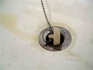 Keep the drain clean