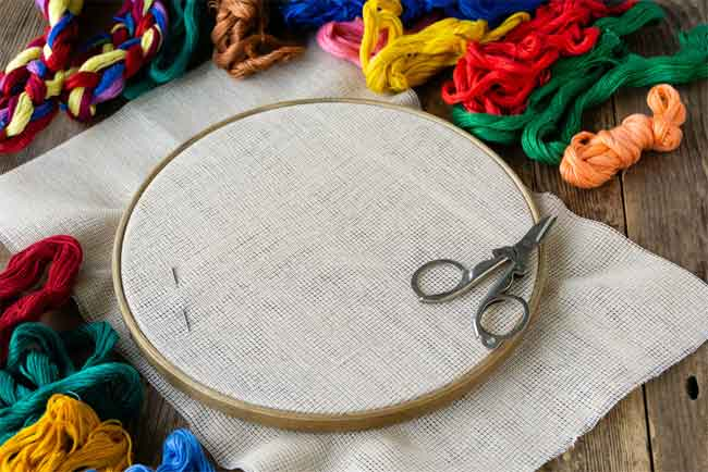 You are currently viewing Embroidery Hoop Crafts